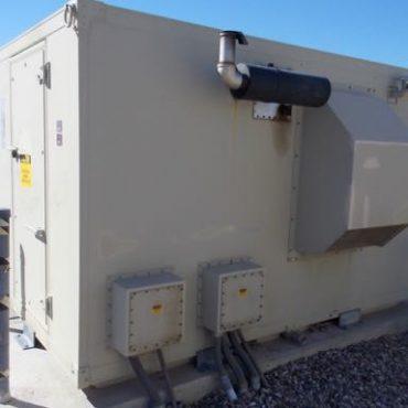 25 KW Diesel Generator In 8' x 12' Shelter