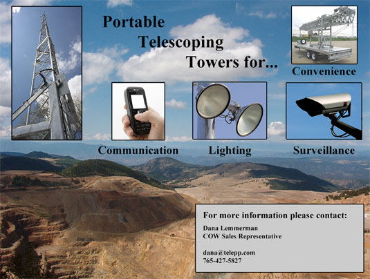 Portable Telescoping Towers