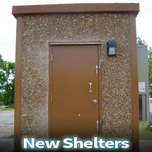 New Telecom Equipment Shelters
