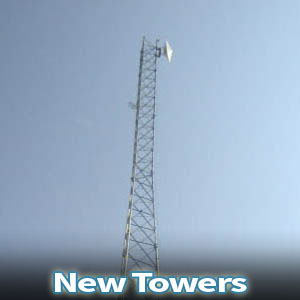 New Telecom Equipment Towers