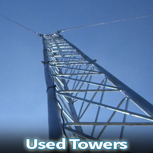 Used Telecom Equipment Towers