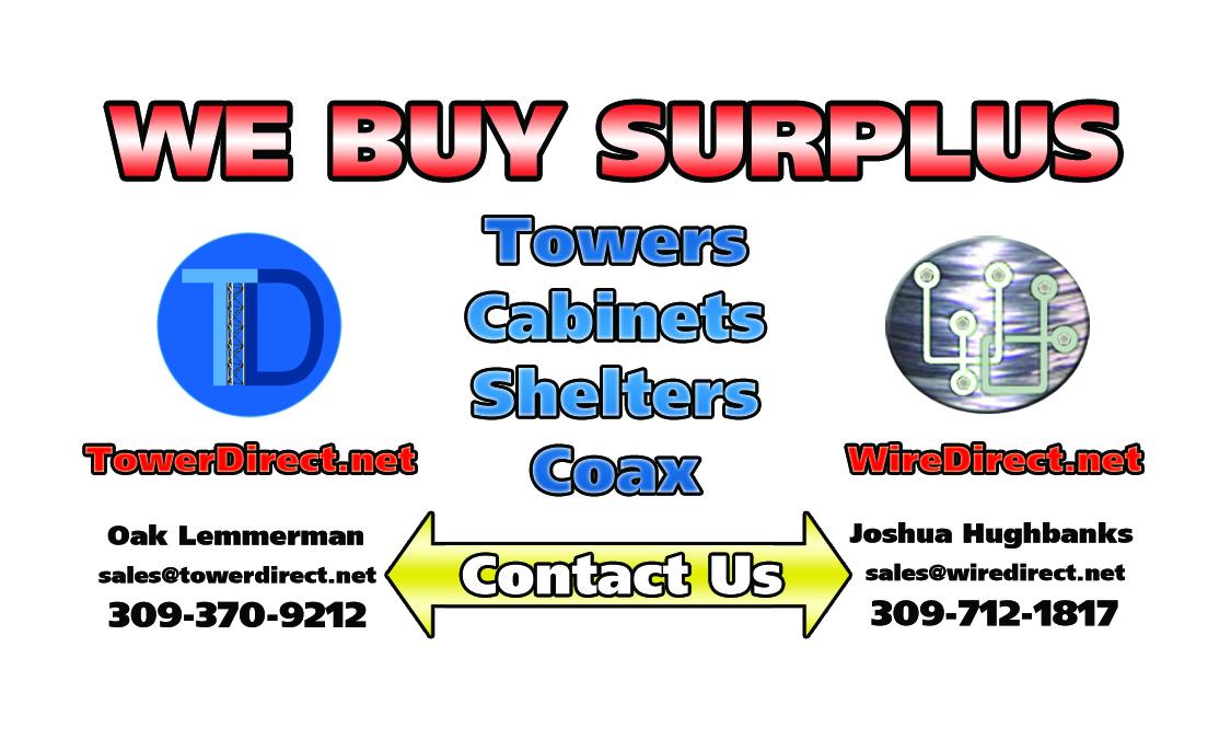 We Buy Surplus Telecom Equipement