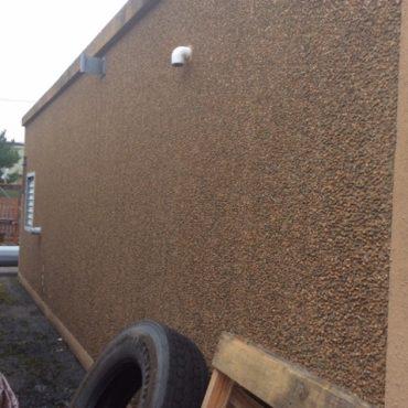 12' x 30' Fiberbond Concrete With 60 KW Generator
