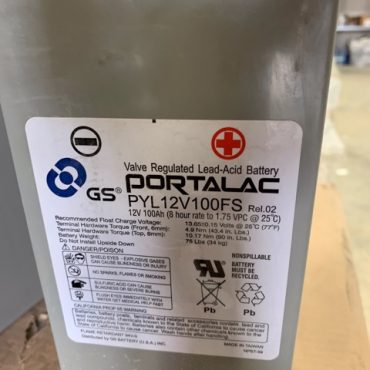 Portalac PLY12V100FS Batteries