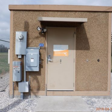 12x20 Fibrebond Concrete Shelter