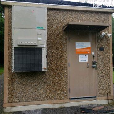 11.5' x 21' Fibrebond Concrete Shelter