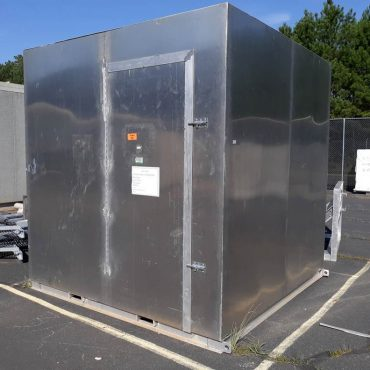 8' x 8' x 8' Aluminum Shelter