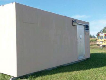 12 x 24 ROHN Fiberglass Shelter