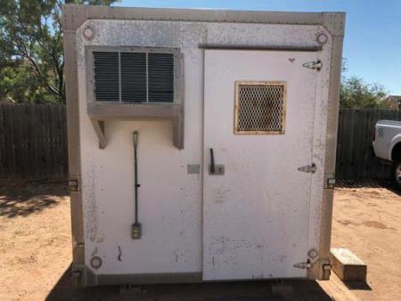 8 x 8 EKTO Metal Shelter