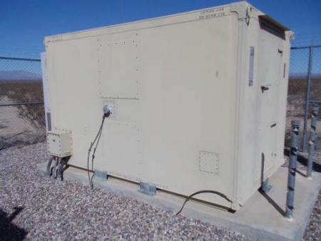 8 x 12' Metal Radio Shelters