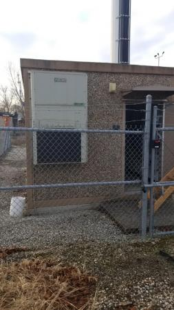 11' x 20' Fibrebond Concrete Shelter