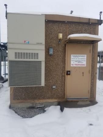 11' x 20' Fiberbond Concrete With 2 Entry Doors