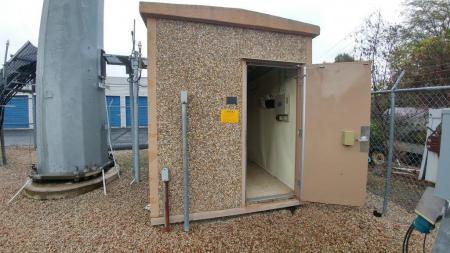 8x12 Fiberbond Concrete Shelter 1