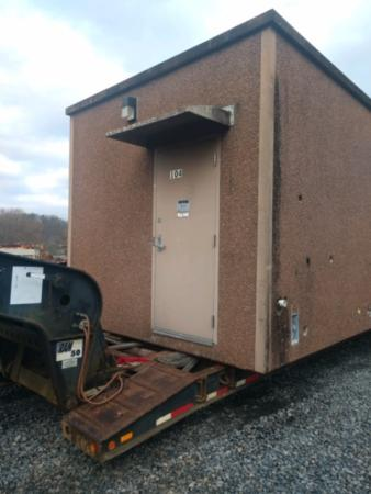 12 x 20' ROHN Concrete Shelter 1