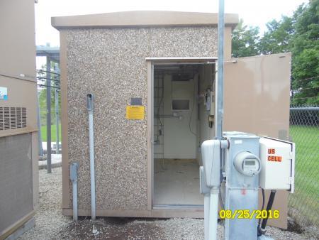 8' x 12' Fibrebond Concrete Shelter 1