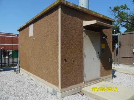 11'3 x 19'4 CellXion Concrete Shelter 1