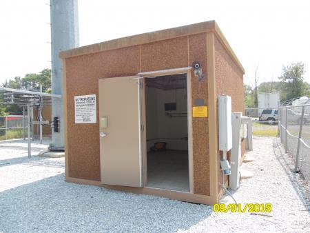 12' x 16' Fibrebond Concrete Shelter 1