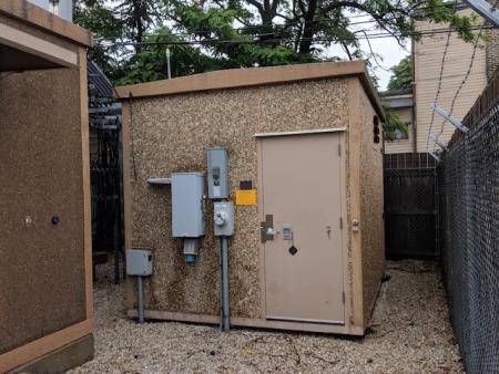 10' x 12' Fibrebond Concrete Shelter 1