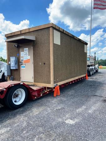12 x 20 Fiberbond Concrete Shelter 2