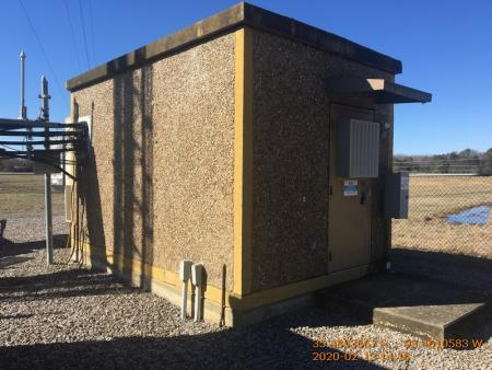 Used 10' x 16' GFRC Concrete Shelter 2