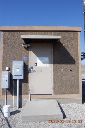 11'5 x 20' Fibrebond Concrete Shelter 1