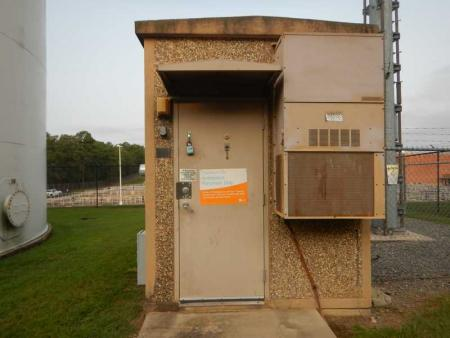 Used 8' x 16' Fibrebond Concrete Shelter 1