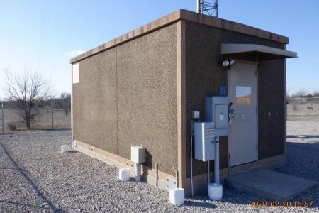 Used 12' x 20' Fibrebond Concrete Shelter 1
