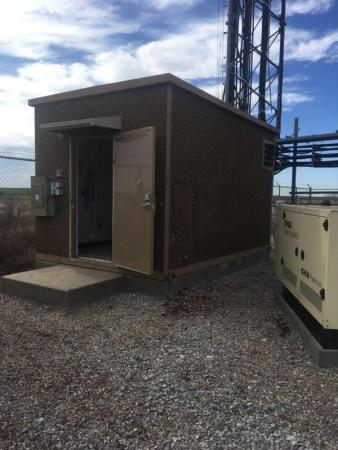 Used 10' x 16' Cellxion Concrete Shelter 1